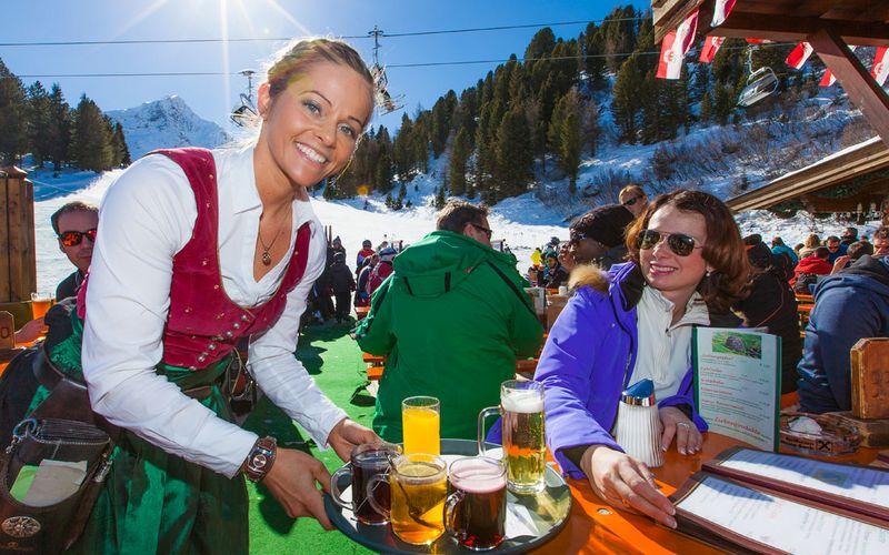Feiern in Bubis Schi- & Almhütte