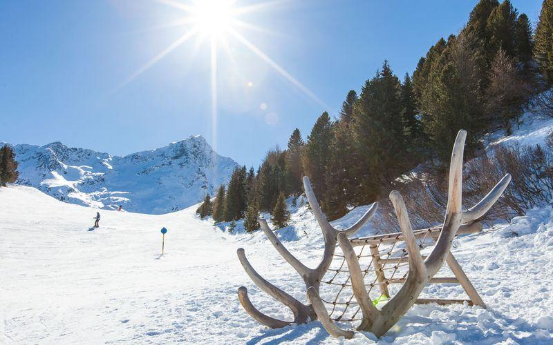 Aussicht auf die Ötztaler Bergwelt