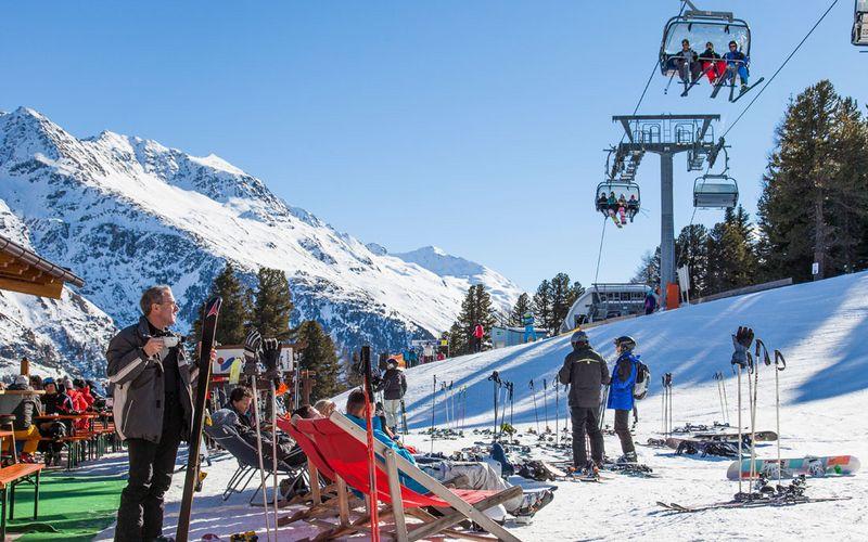 Bubis Schihütte direkt im Skigebiet Sölden